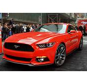 Photo Gallery 2015 Ford Mustang Debuts In New York City  Mustangs