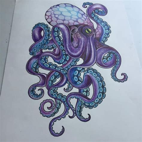 octopus tattoo design best 25 octopus design ideas on