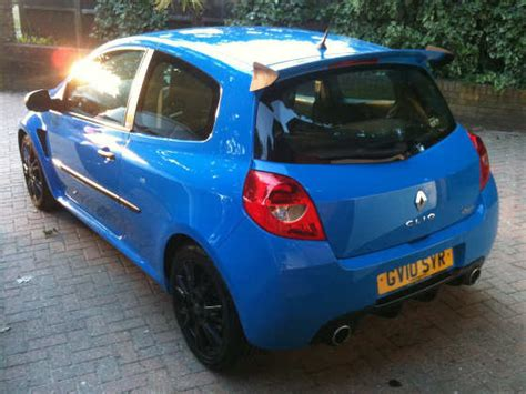 renault sport rs 01 blue renaultsport clio 200 owner s review