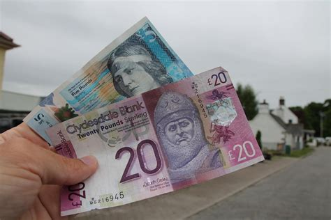 schottische banken schottland rundreise mit auto einfach selber planen