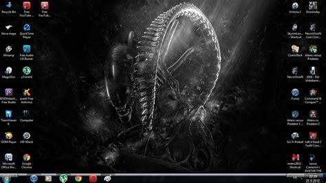download theme xenomorph for windows 7 xenomorph windows 7 theme by yautjavasquez on deviantart