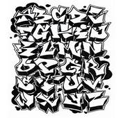 This Is A Sketch Graffiti Alphabet Examples To Create Art On