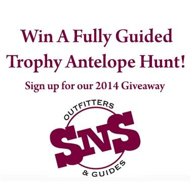 Hunting Trip Giveaways - enter to win our free hunting trip wyoming hunting news
