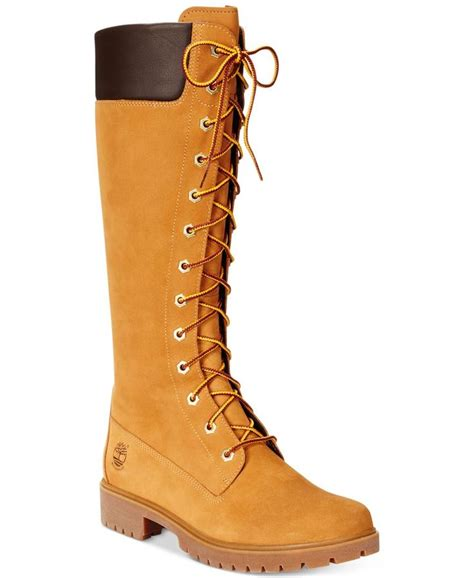 macys womans boots timberland s 14 quot premium lace up boots boots
