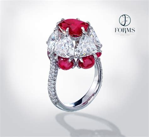 Ruby 3 85ct 25 best burmese ruby ideas on rubies and