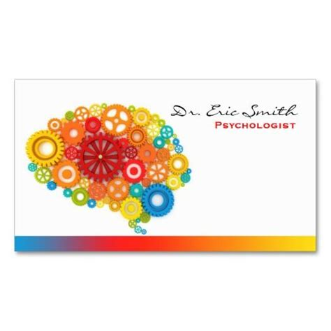 psychologist business card templates free 271 best psychology business cards images on