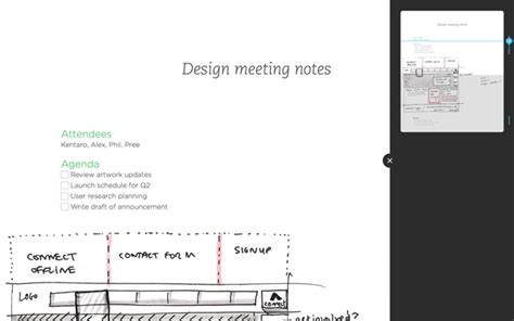 layout editing mode how to use presentation mode to present notes evernote