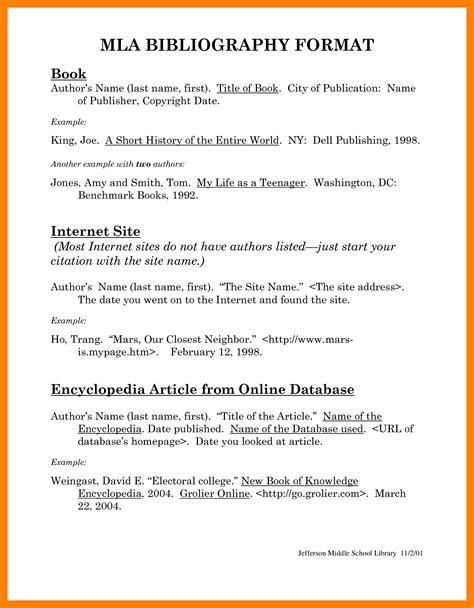 resume references cite mla citation format exle world of template format
