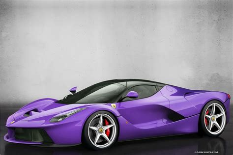 purple laferrari la other colours for laferrari
