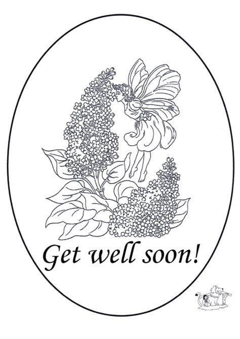 Get Well Soon Coloring Pages To Print Coloringstar Get Well Coloring Pages Print