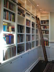 Bookshelves With Rolling Ladder Bookcase With Rolling Ladder Voqalmedia Com