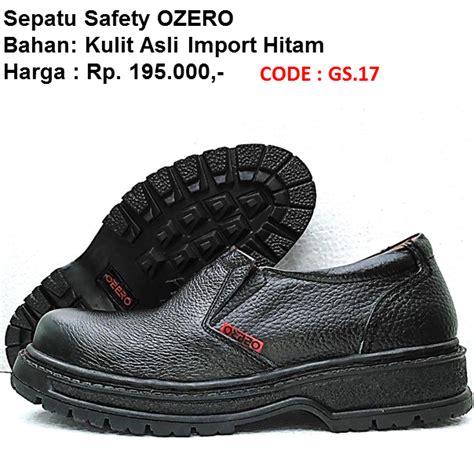 Sepatu Safety Krisbow Kawan Lama jual safety shoes ozero murah sni balikpapan 0822 3025