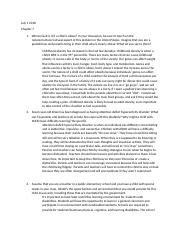 Writing Assignment #5.docx - Preschool Literature 1 Give