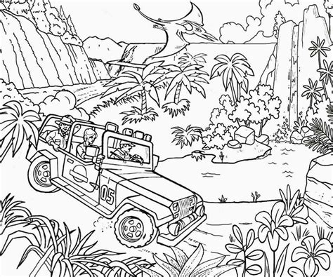 Jurassic World Spinosaurus Coloring Page Coloring Pages Jurassic Park Coloring Pages