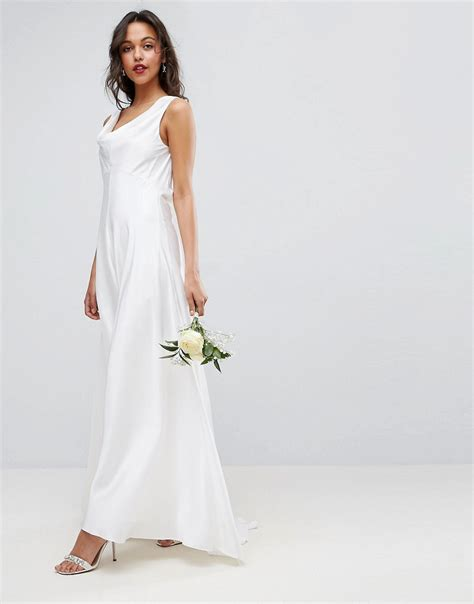 Maxi Style Wedding Dresses by 1930s Style Wedding Dresses Shoes Accessories