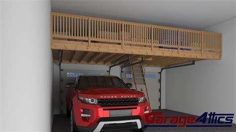 Garage Rack Storage Ideas Garage Storage Ideas Custom Overhead Storage Lofts