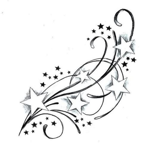 star and swirl tattoo designs design tattoos design photos