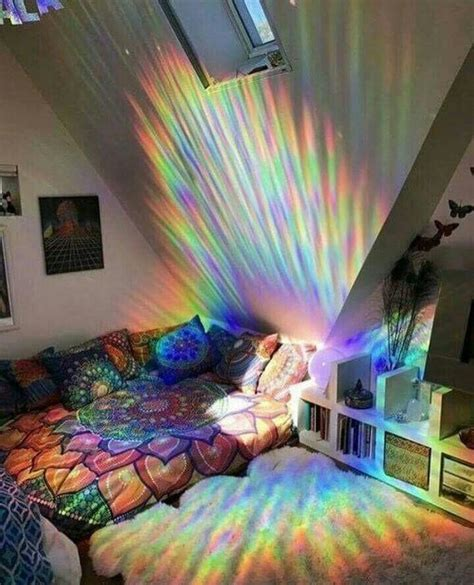 rainbow bedroom decor 25 best ideas about hippie bedrooms on pinterest hippie