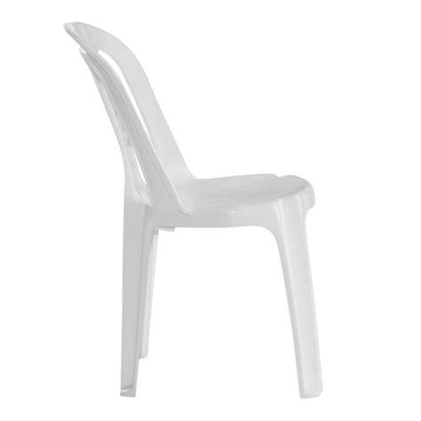 sillas plastico silla de pl 225 stico blanca bistr 243 313 0 garden