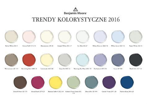 color trends 2016 trendy kolorystyczne akademia inspiracji benjamin paints
