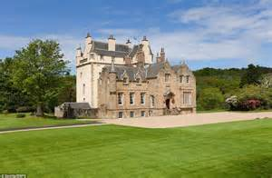 buying a house in scotland scottish castle cassillis house is put on the market for 163 3 9m daily mail online