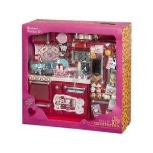 american doll kitchen set our generation gourmet kitchen set for 18 034 dolls