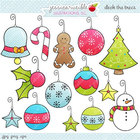 best photos of free printable christmas tree ornaments cute christmas ornament clipart
