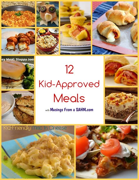 12 kid approved meals living well mom