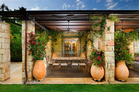 mediterranean backyard designs patio mediterranean patio other metro by elad gonen