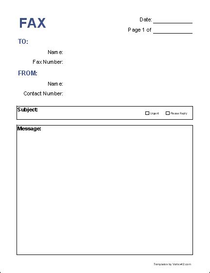 fax cover sheet free fax cover sheet template printable fax cover sheet