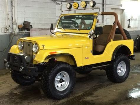 1982 Jeep Wrangler Find Used 1982 Amc Jeep Cj5 Cj 5 7 Garage Kept All New