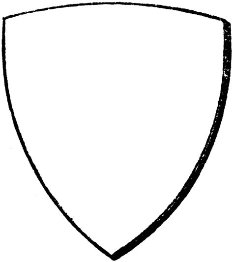 bouche shield clipart etc