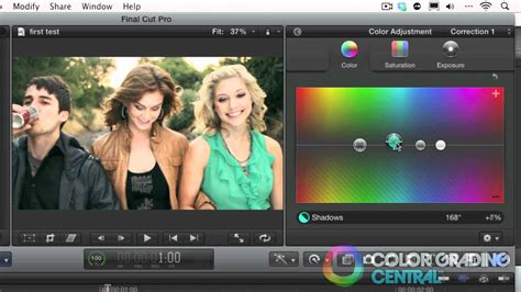 final cut pro not responding 03 final cut pro x color correction tutorial interface