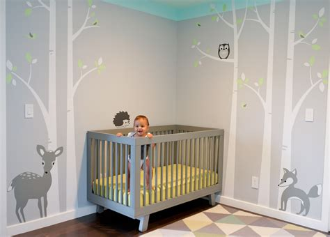 Decorating The Nursery Baby Nursery Boy Baby Room Boy Nursery Simple Decor Along With Chandelier
