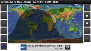 World Daylight Map by Day Night World Map Androgeoid