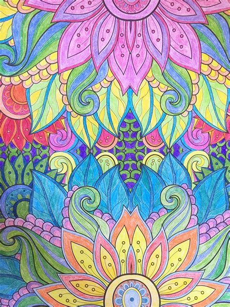 coloring pages for adults finished adult coloring book parties ideas joann