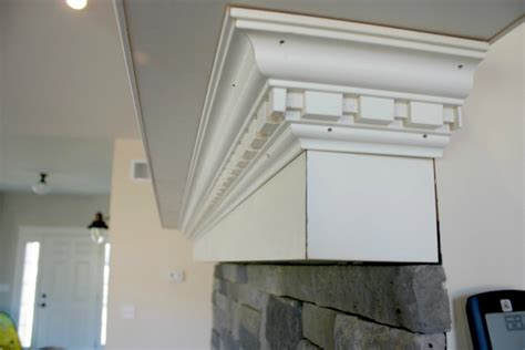 crown molding fireplace mantel how to build a fireplace mantel shelf with crown molding