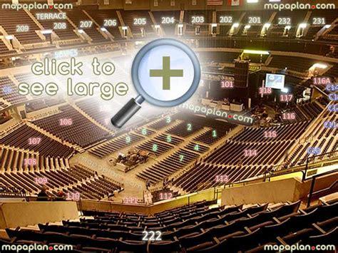 Wells Fargo Floor Plan Block 17 Row S Restricted Side View On Live Concert