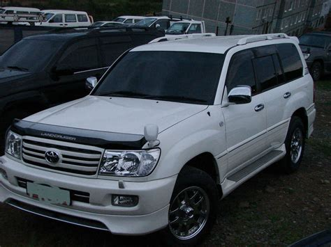 2005 Toyota For Sale 2005 Toyota Land Cruiser For Sale 4700cc Gasoline