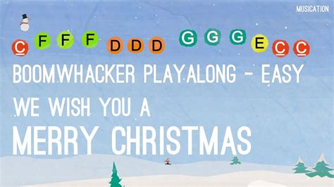 merry christmas boomwhackers easy youtube