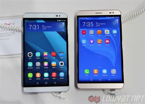 Tablet Huawei Mediaped X2 huawei at mwc 2015 huawei mediapad x2 talkband b2 and more lowyat net
