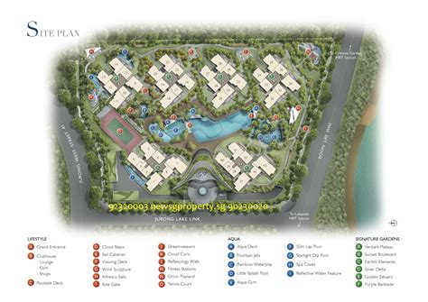 site floor plan jurong west lakeside condo newsgproperty sg