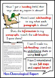 Ks1 Newspaper Report Writing by Ks1 How To Writing A Non Chronological Report Writing Non Chronological Reports Ks1 Exles Of