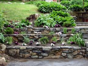 Tiered Backyard Landscaping Ideas How To Build Tiered Garden Walls How Tos Diy