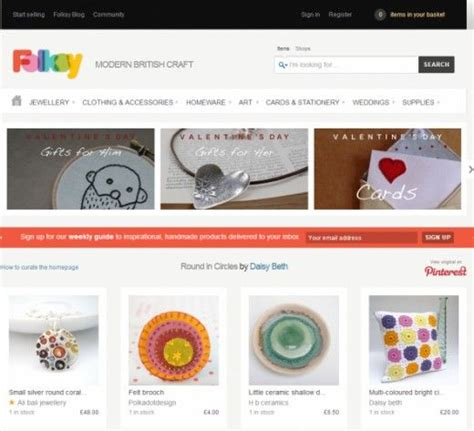 Best Handmade Websites - 17 best ideas about like etsy on