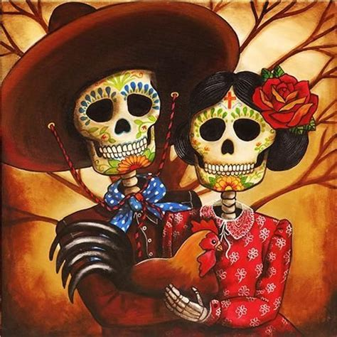 day of the dead couple tattoo day of the dead celebration