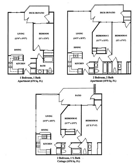 senior housing floor plans senior housing apartment floor plans