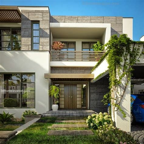 front elevation beautiful modern style house design home modern house front elevation designs google search