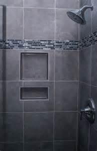 Gray bathroom tile shower contemporary bathroom showers