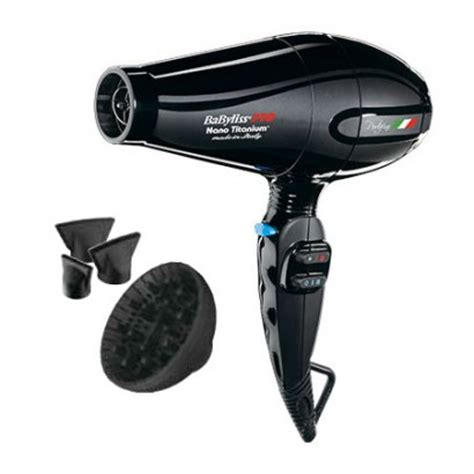 Babyliss Pro Hair Dryer Made In Italy babyliss pro portofino nano titanium ionic hairdryer babnt6610nc fabove ca